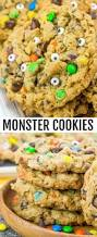 monster cookies a fun halloween treat for the kids