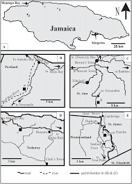 Blank Map Of Caribbean by Soft Sediment Ichnotaxa From The Cenozoic White Limestone Group