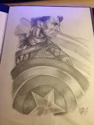 captain america sketch by admirawijaya deviantart com on