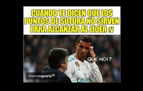 Cristiano Ronaldo Meme - cristiano ronaldo protagoniz祿 memes luego de mirar su herida en un
