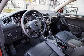 volkswagen tiguan 2018 interior review 2018 volkswagen tiguan highline canadian auto review