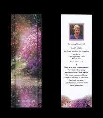 memorial bookmarks memoriam memorial cards funeral cards rememberance cards