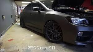 subaru custom 2015 subaru wrx sti full makeover including 3m wrap and custom