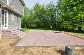 Paver Patio Installation by Patios Albert Group Landscaping U0026 Swimming Pools