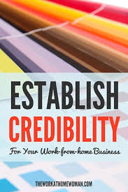 Home Based Graphic Design Business Establish Credibility For Your Work From Home Business
