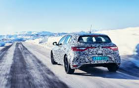 2018 renault megane r s previewed again undergoing winter