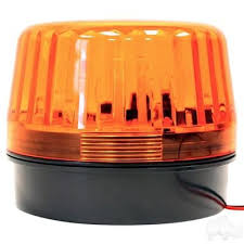 golf cart led strobe lights golf cart led strobe light amber 12 24vdc products pinterest