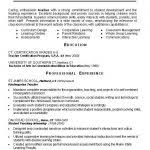 Sample Resume Education Section by 1000 Ideas About Teacher Resume Template On Pinterest Teacher