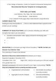 student resume templates resume college student template best resume collection