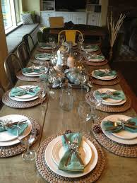 Casual Table Setting Best 25 Thanksgiving Table Settings Ideas On Pinterest Fall