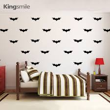 compare prices on batman logo wall decal online shopping buy low 50 pieces set batman logo vinyl wall decals nursery 3d wall art stickers wallpaper poster