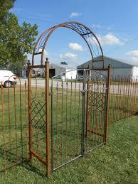 suncast 8 wrought iron black fence edging lawn garden fencing