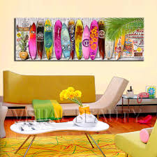 surfboard wall art home decorations wall decor surfboard wall art home decorations colorful summer