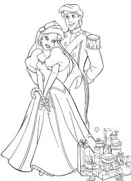 cute princess ariel coloring pages womanmate com