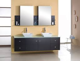 bathroom 60 inch double sink bathroom vanity black stained