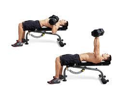 dumbbell bench press men u0027s fitness