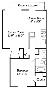 1 bedroom floor plan images and photos objects u2013 hit interiors