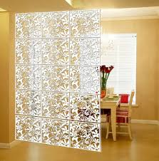 hanging wall panels room divider fashion hollow flower fashion