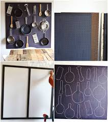Kitchen Pegboard Ideas Kitchen Pegboard Diy Diy Project