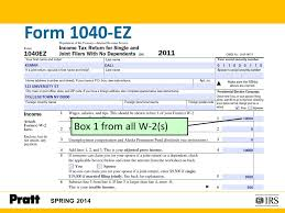 2014 Tax Tables 1040ez International Students And Scholars Tax Seminar 2 Note This