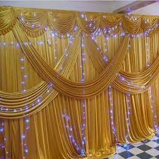 gold backdrop gold stage wedding backdrops for wedding decoration wholesale