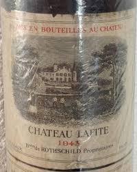 learn about chateau lafite rothschild 1943 château lafite rothschild bordeaux médoc pauillac