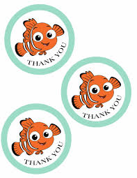 free finding nemo tags printable perfect party