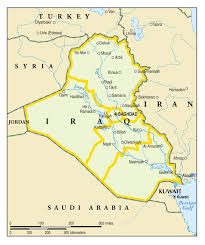 Iraq Map World by Simple Map Of Iraq And Its Neighbors Institute For The Study Of War
