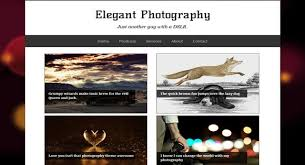 20 free photography blogger templates in 2017 zeroblogger