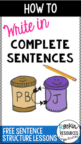 complete or incomplete sentences read each sentence and decide if