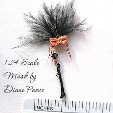 miniature mardi gras masks miniature masquerade masks diane paone