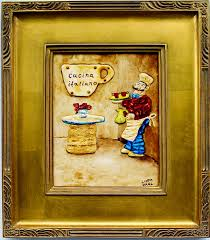 painting for kitchen italian coffee chef paintings for sale coffee art