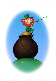 free printable happy leprechaun st patrick u0027s day card printable