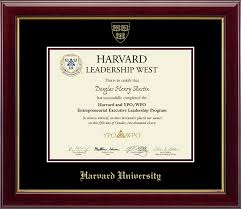 harvard diploma frame harvard gold embossed certificate frame in gallery