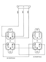 quad receptacle wiring diagram quad wiring diagrams collection