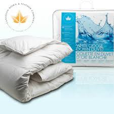Goose Or Duck Down Duvet White Goose Down Duvet Canadian Down U0026 Feather Company