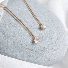 rose quartz rose necklace images Rose quartz pendant necklace embrace jewellery jpg