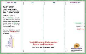 4 panel brochure template indesign download postcard design and
