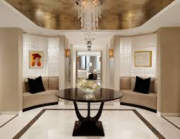 Foyer Table Decor Ideas by Modern Round Table Classic Family Room Decor Ideas For Modern