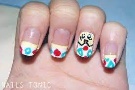 nails tonic togepi inspired nail art