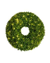 artificial boxwood wreath battery operated boxwood wreath balsam hill