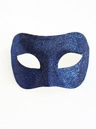 masquerade masks navy blue venetian masquerade masks