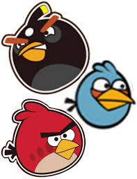 angry birds printables images reverse