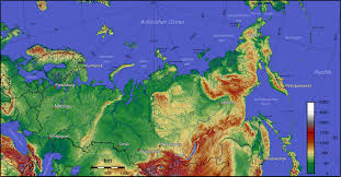 Russia Map Image Large Russia by Origins Of Russia U2013 Geohistory