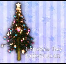 Anime Christmas Tree Ornaments Mmd Christmas Tree Dl By Kurokanon On Deviantart