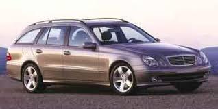 mercedes e320 wagon 2004 2004 mercedes e class wagon 4d e500 awd expert reviews