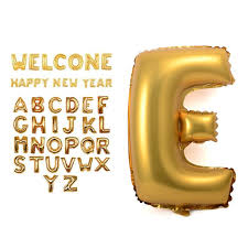 balloon decorations mylar number letter 16 gold silver letters alphabet number foil balloon for baby party