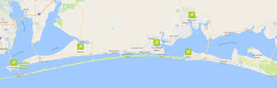 Map Of Fort Walton Beach Florida by Locations Mid Coast Lawn Management