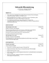 resume templates open office 8 free openoffice resume templates ott format
