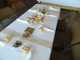 Anniversary Centerpiece Ideas by 50th Wedding Anniversary Table Decorating Ideas Gold Truffles